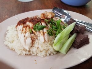 Chicken with Sticky Rice pattaya